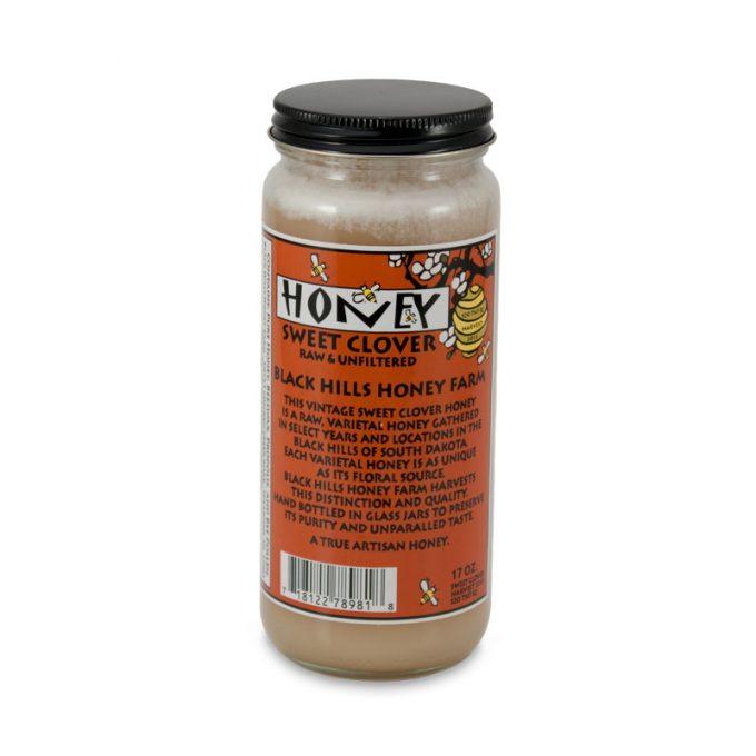 17 oz Glass Honey