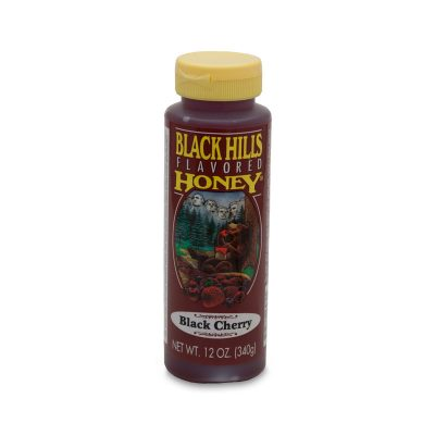 Black Cherry Flavored Honey - 12 oz
