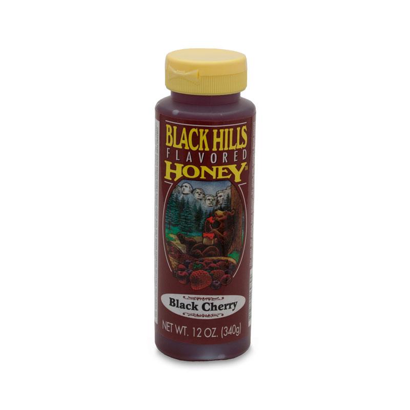 Black Cherry Flavored Honey - 12 oz