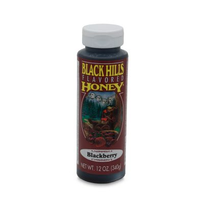 Blackberry Flavored Honey - 12 oz