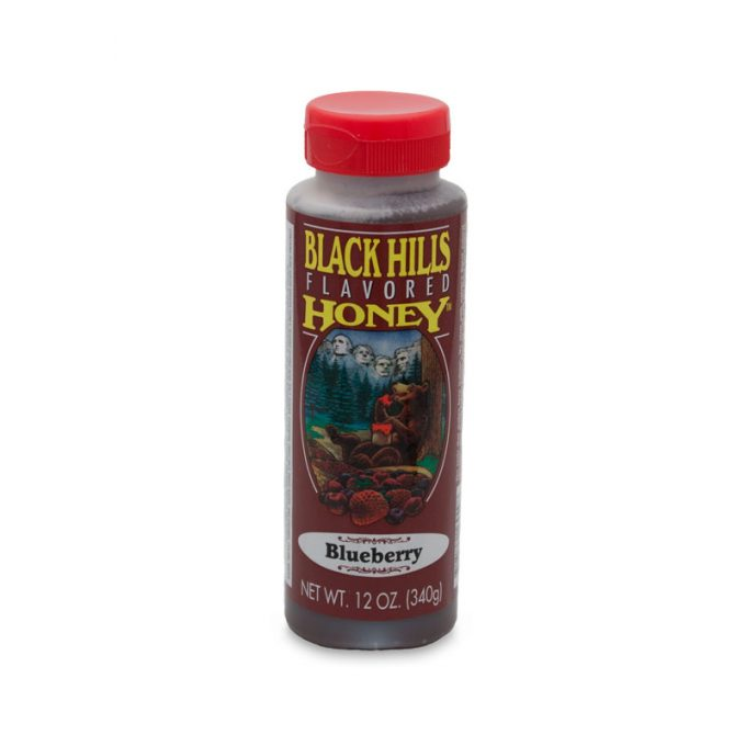 Blueberry Flavored Honey - 12 oz