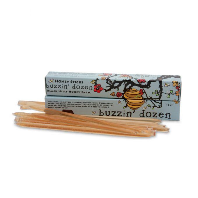 Buzzin' Dozen Honey Sticks