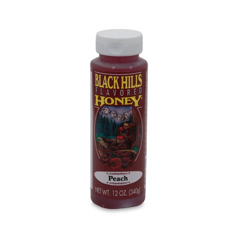 Peach Flavored Honey - 12 oz