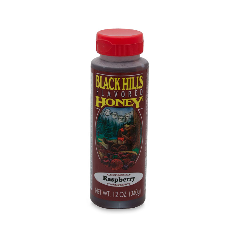 Raspberry Flavored Honey - 12 oz