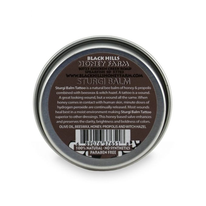 Sturgi Balm Tattoo - 1 oz tin