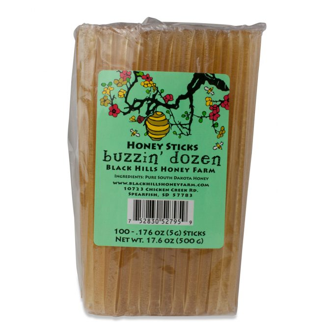 Buzzin' Dozen Honey Sticks - 100 pack